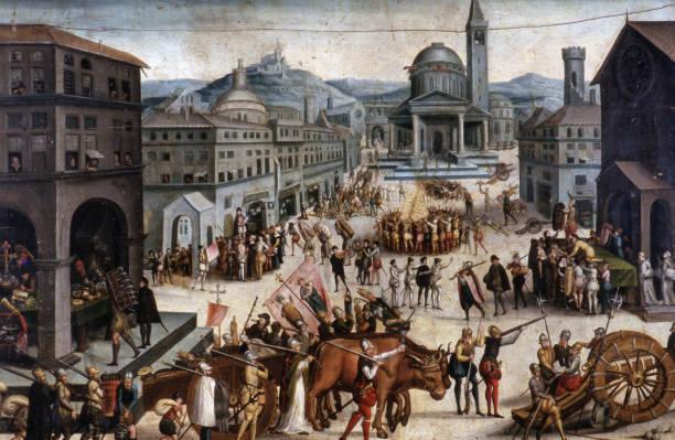 Sac de Lyon par les troupes du baron des Adrets